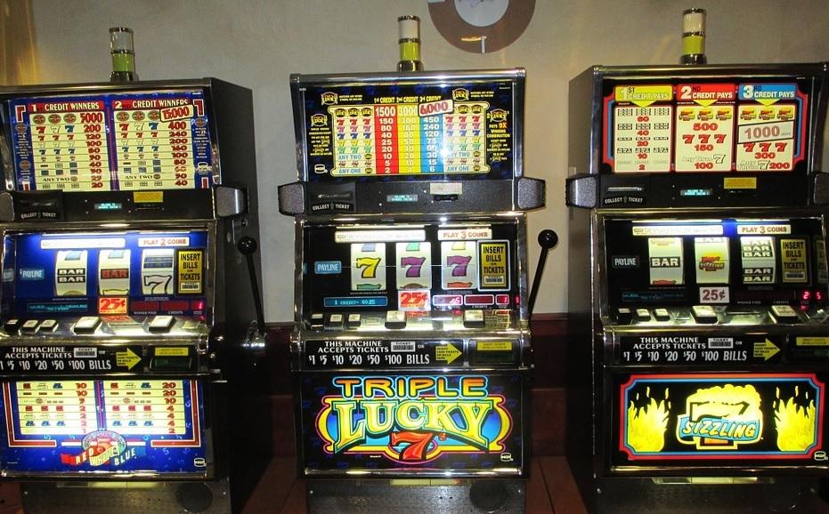Slot machine da bar vecchie